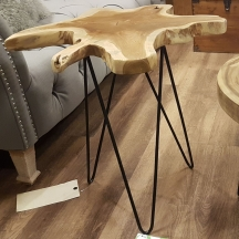 A friend had a really similar table when we were round for dinner...this one is a sneaky find at Homesense and I love it!